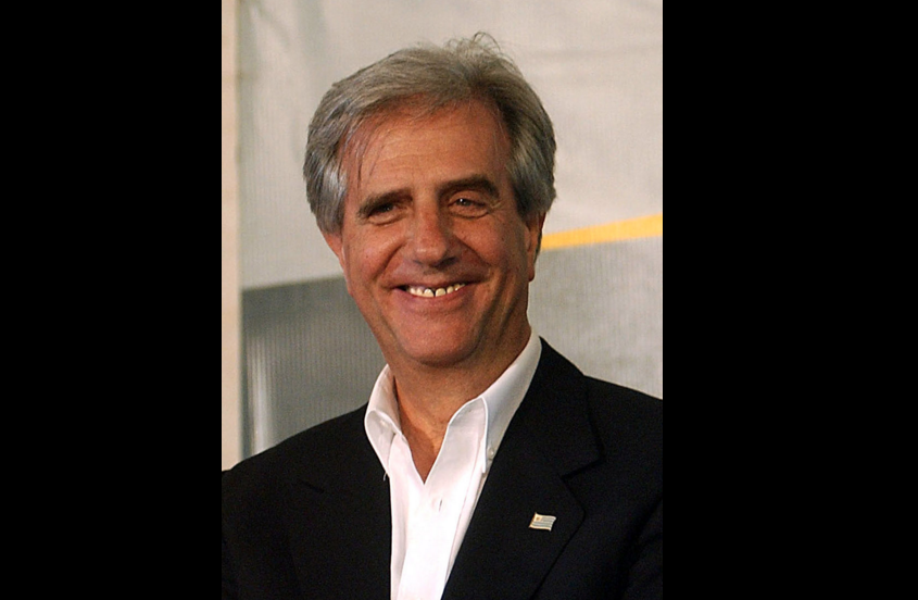El presidente de Uruguay Tavaré Vazquez (Fto. Wikicommons)