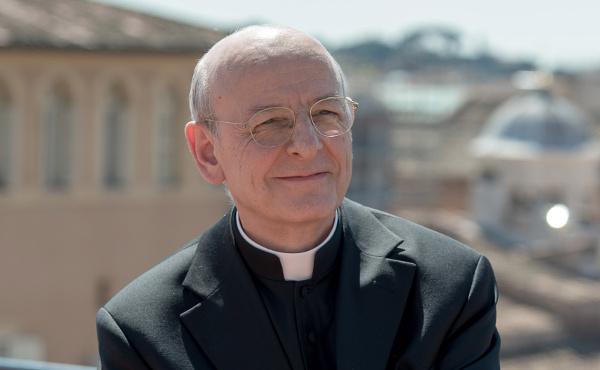 Mons. Ocariz en Roma (foto cortesía prelatura del Opus Dei)
