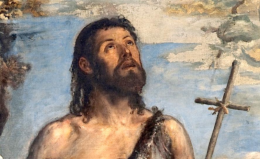 Museo Nacional del Prado. San Juan Bautista - Tiziano