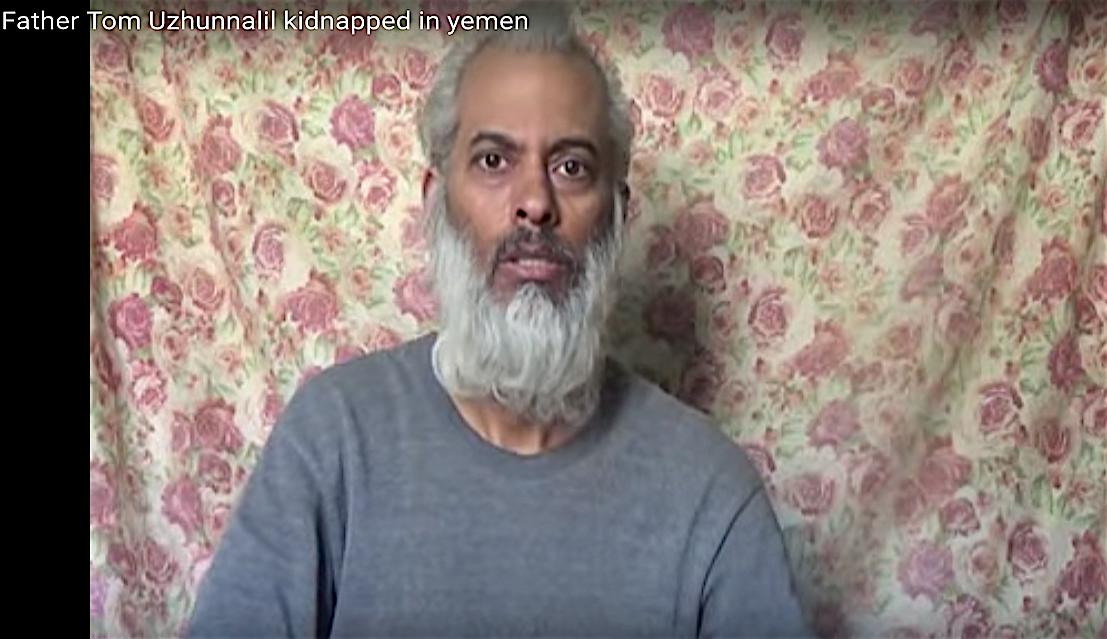 Video del Padre Tom Uzhunnalil. Captura de pantalla de Youtube (Foto de archivo)