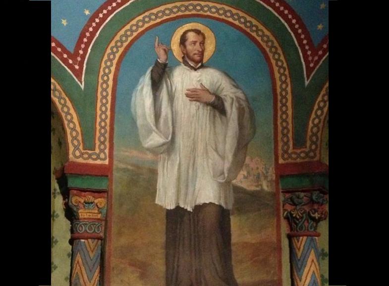 Altar dedicado al beato Regis, en la catedral de Puy . Wiki commons