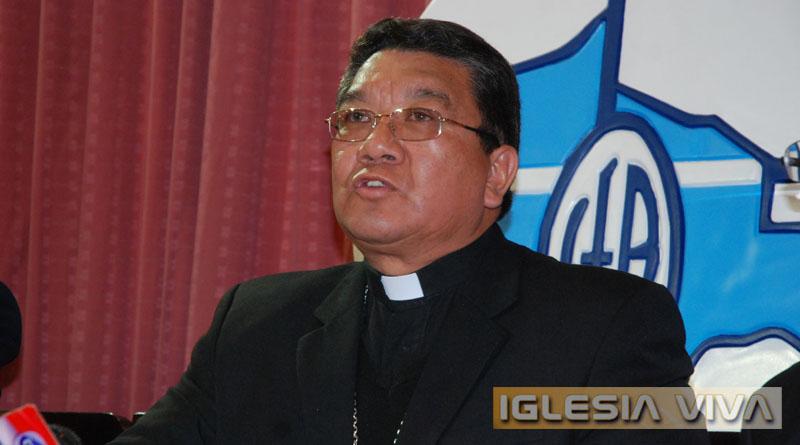 Mons. Aurelio Pesoa - Bolivia (Foto Iglesia Viva)