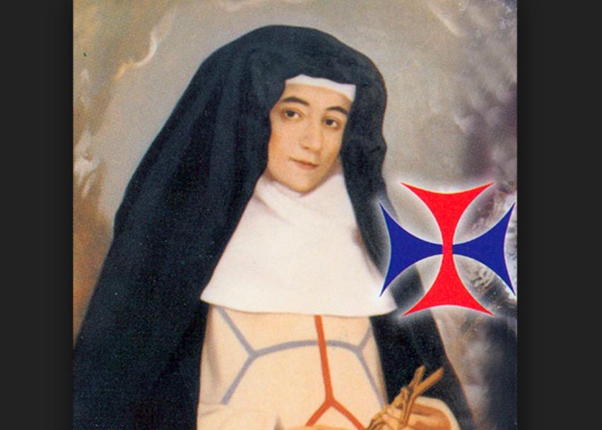 Beata Francisca de la Encarnación (Lienzo en un convento español de Jaén)