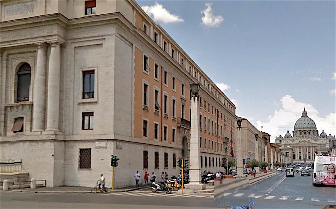 Sede de la CAL en Vía della Conciliazione (Foto archivo Google maps)