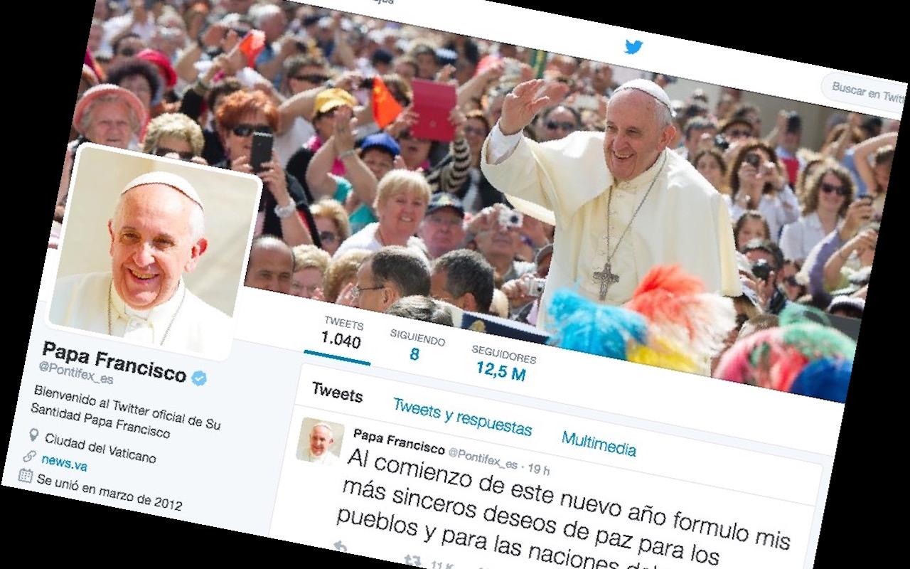 El papa Francisco en twitter