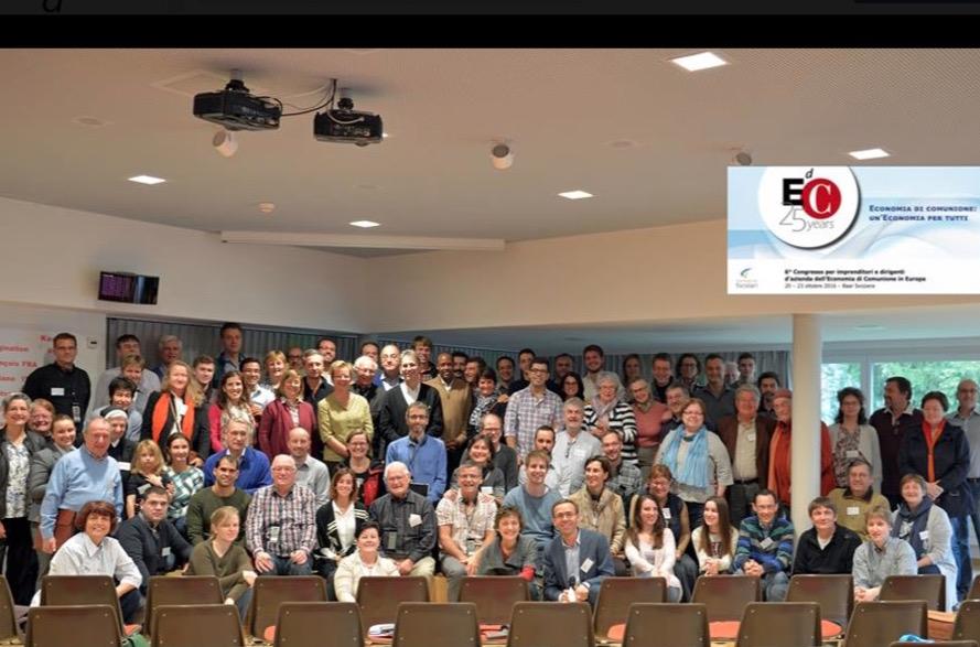 Focolares, sexto congreso europeo de EdC en Suiza (facebook)