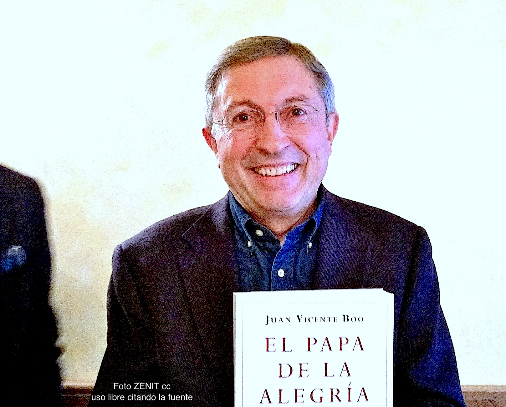 Juan Vicente Boo, corresponsal del ABC de Madrid
