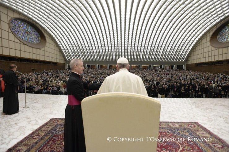 El Papa a los participantes del congreso sobre vocaciones