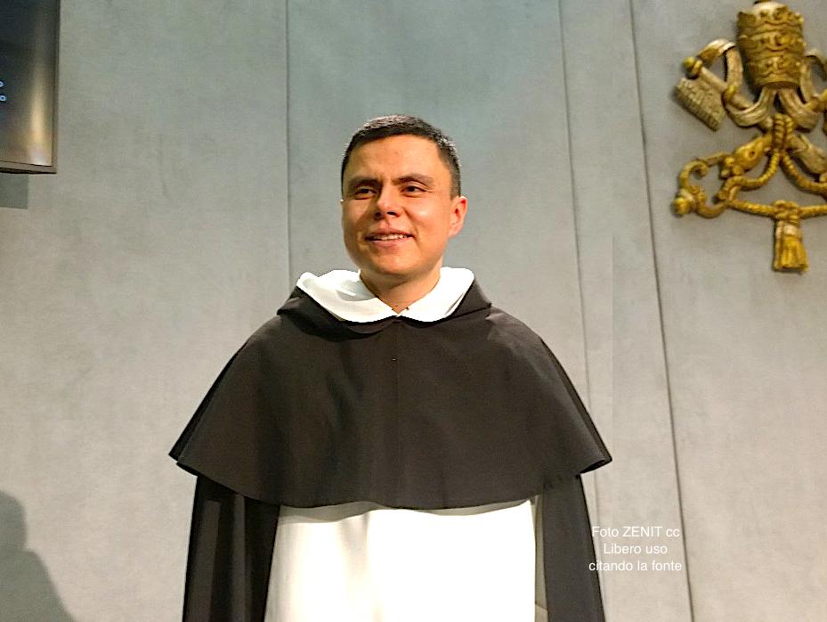 Fray Franklin Buitrago, coordinador para el Jubileo de los Dominicanos (Foto ZENIT cc)