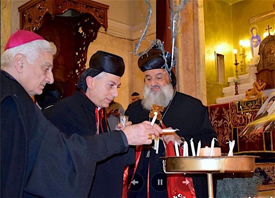 Oración ecuménica en Alepo liberada