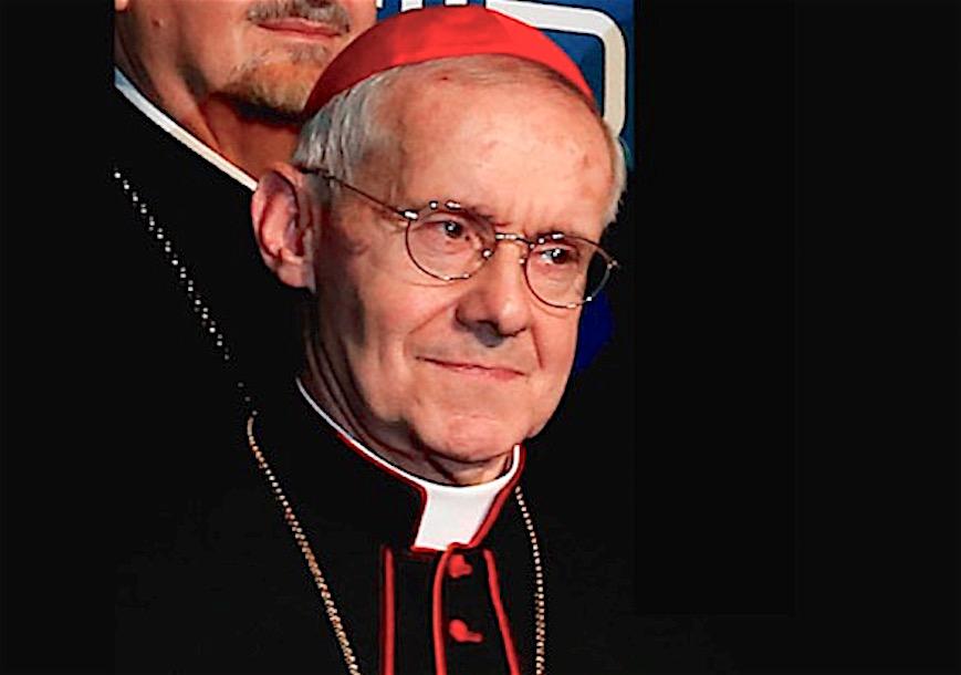 El cardenal Tauran (Foto Wikicommons)