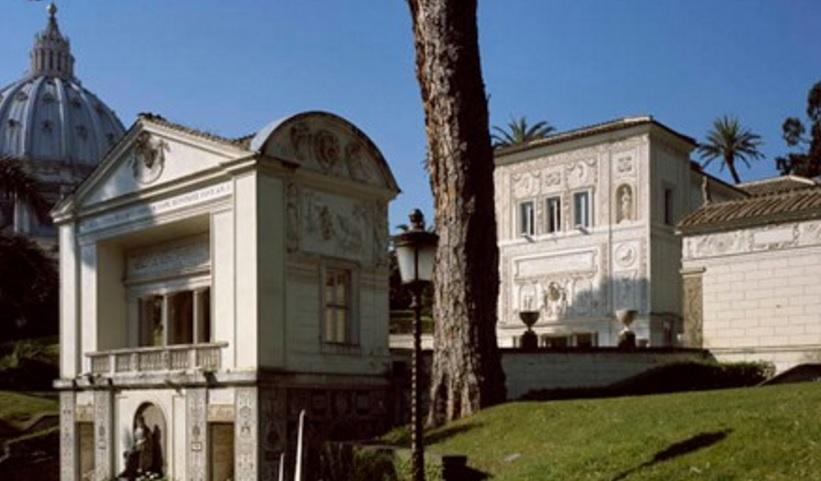 Sede de la Pontificia Academia de las Ciencias, la Casina PIo IV