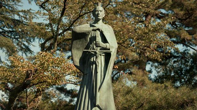 Estatua del beato Justo Takayama Uko, el samurai de Cristo