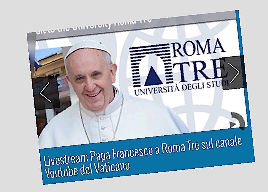 La web de Roma Tre