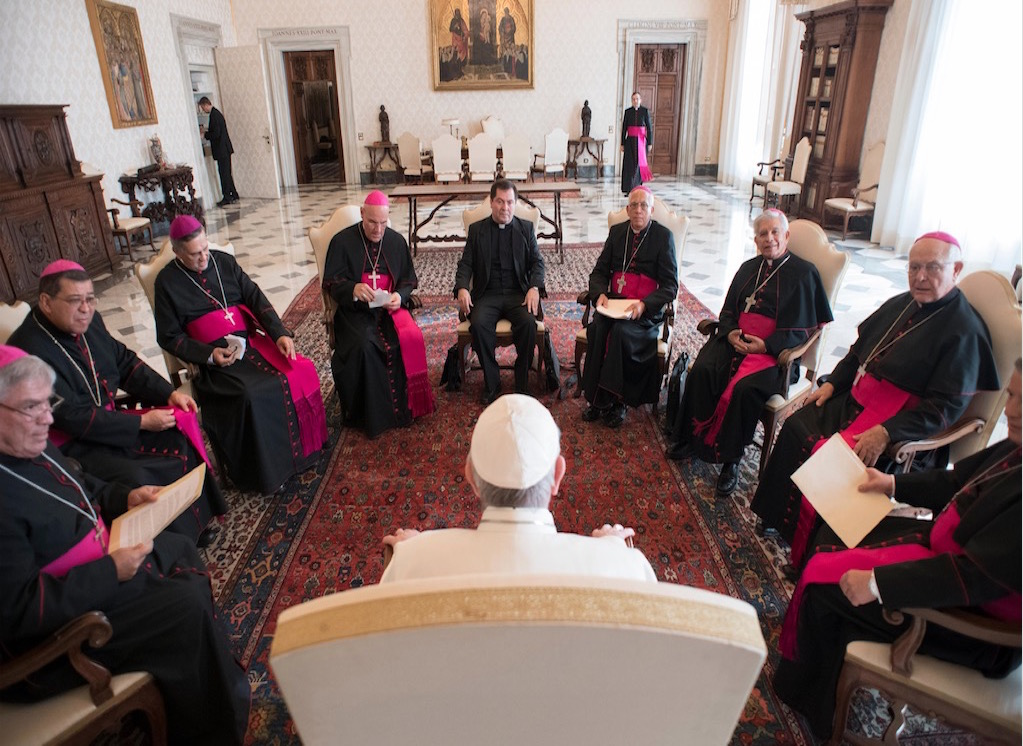 Visita ad Limina de los Obispos de Costa Rica © Osservatore Romano