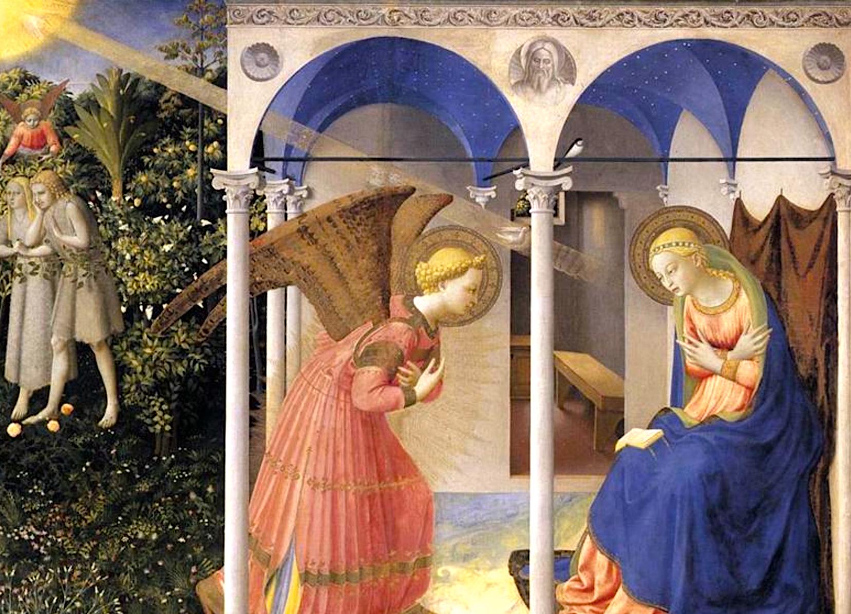 Anunciación - Pintura de Fray Angélico