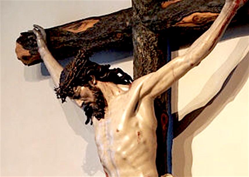 Cristo crucificado, c.1735, Luis Salvador Carmona (1708-1767). Museo Nacional de Escultura, Valladolid - (Fto. Wikicommos - Luis Fernández García)