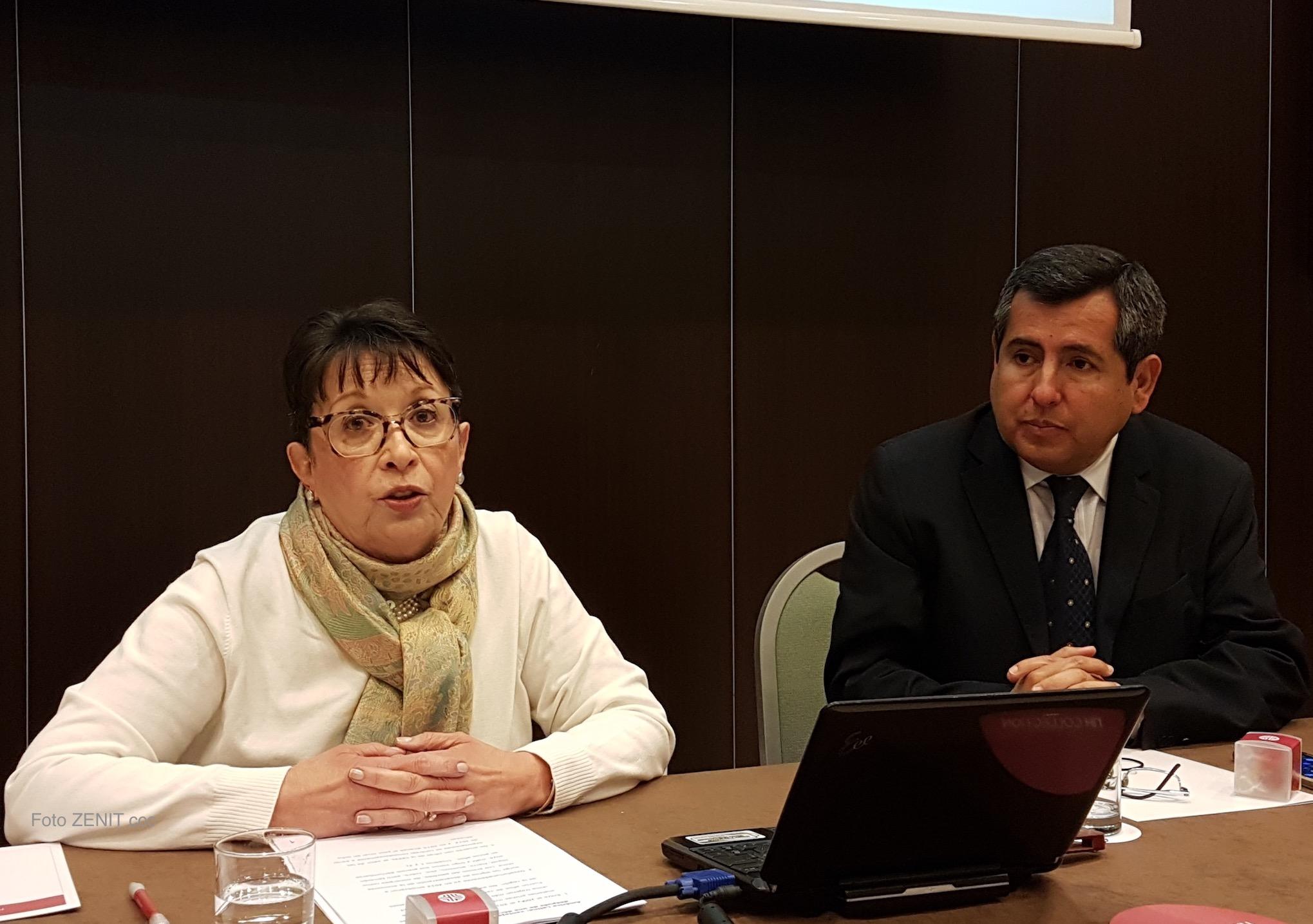 La embajadora de Costa Rica en Italia, Cristina Eguizábal Mendoza