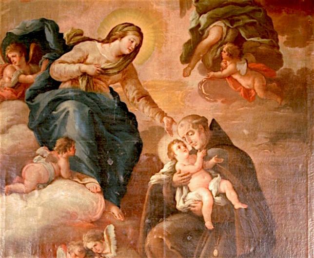 San giovan Giuseppe della Croce - (Francesco Carella - 1805- Pinacoteca convento San Pasquale)