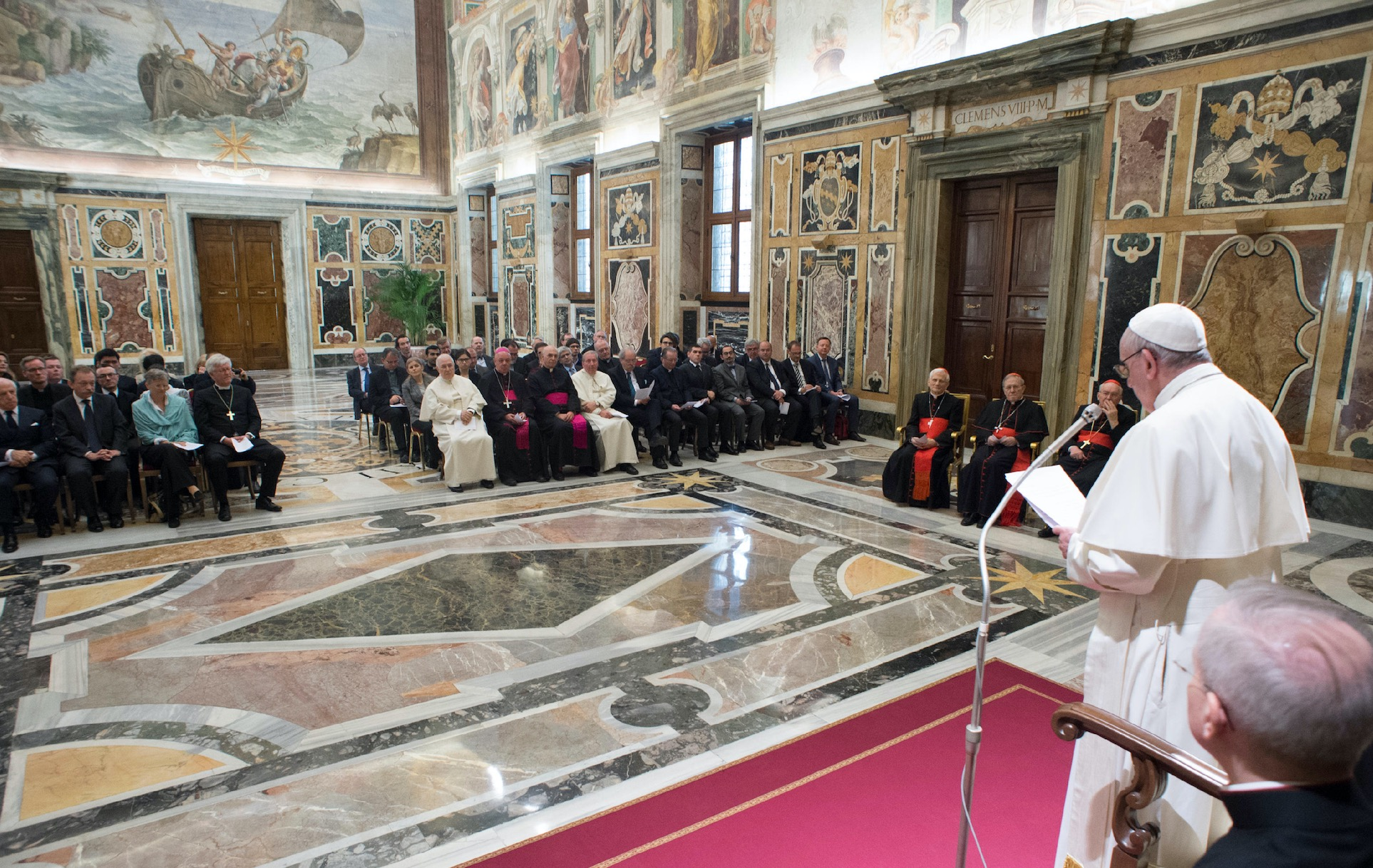 Audiencia al congreso de historiadores sobre la reforma protestante (Osservatore @ Romano)