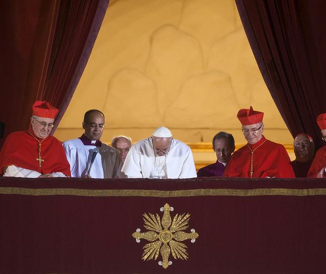 Primera salida del papa Francisco