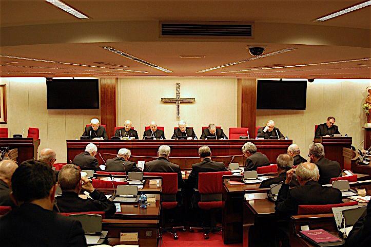 Los obispos españoles en su asamblea plenaria