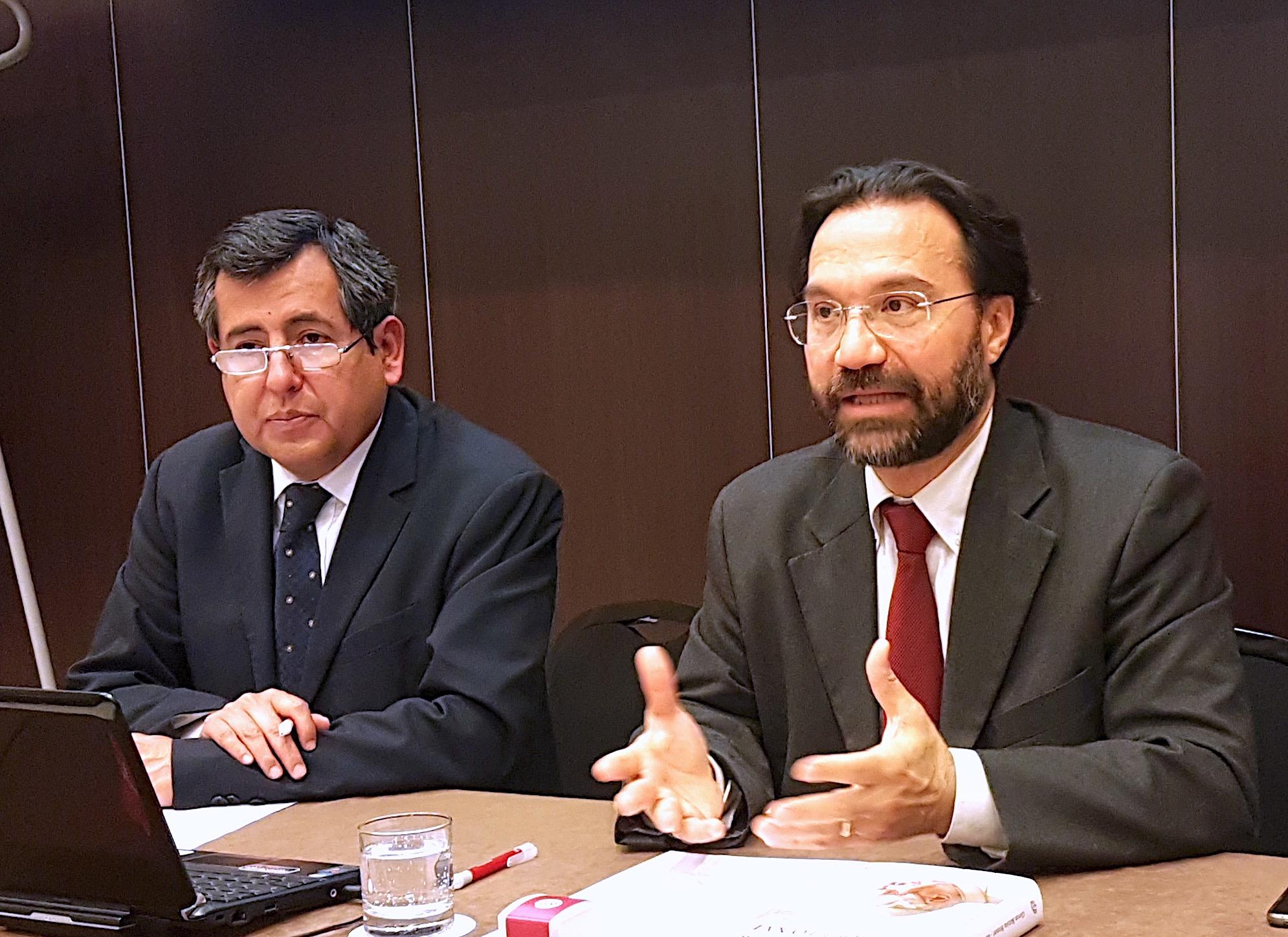 El vaticanista RAI Giovan Battista Brunori