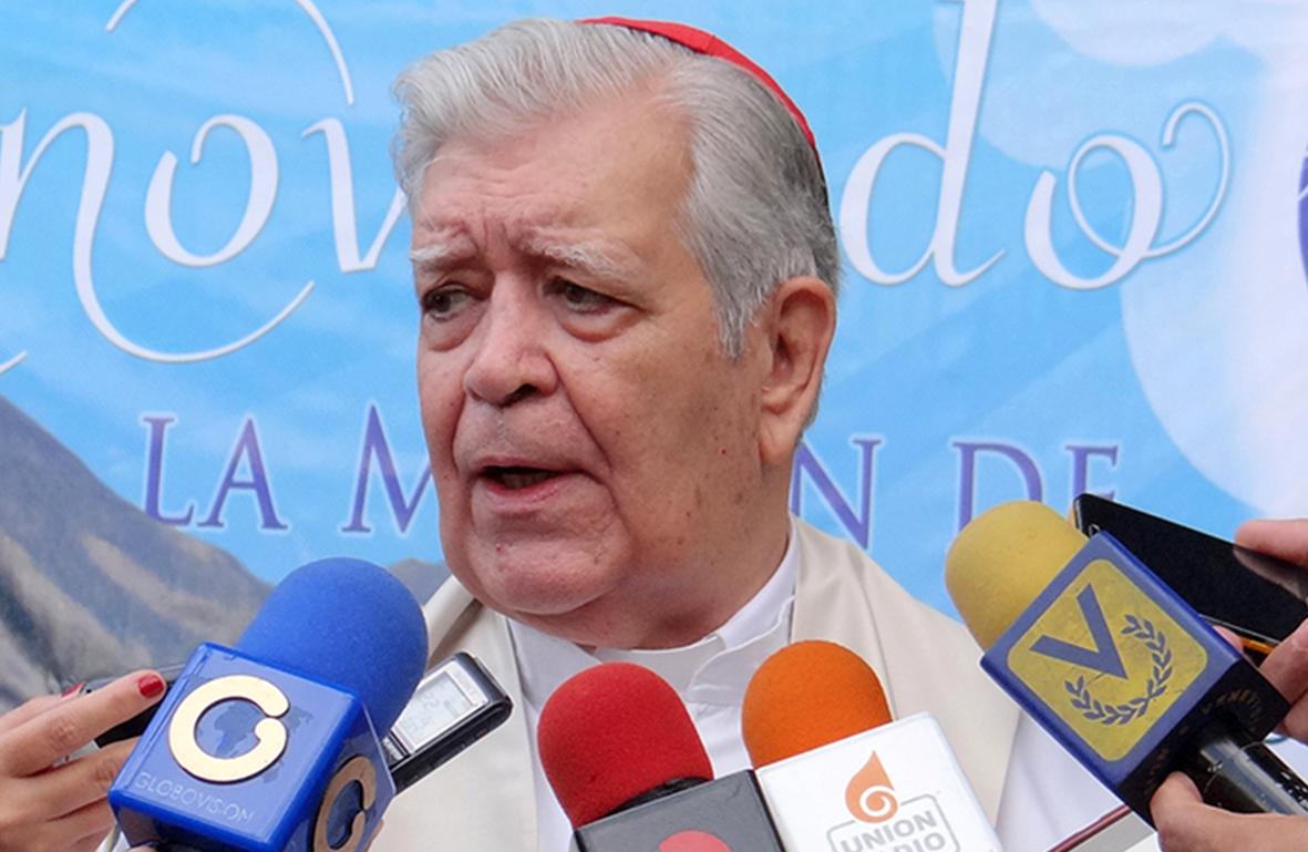 El Cardenal Urosa durante el Congreso Nacional de Laicos de Venezuela en la UCAB - @GuardianCatolic.jpg