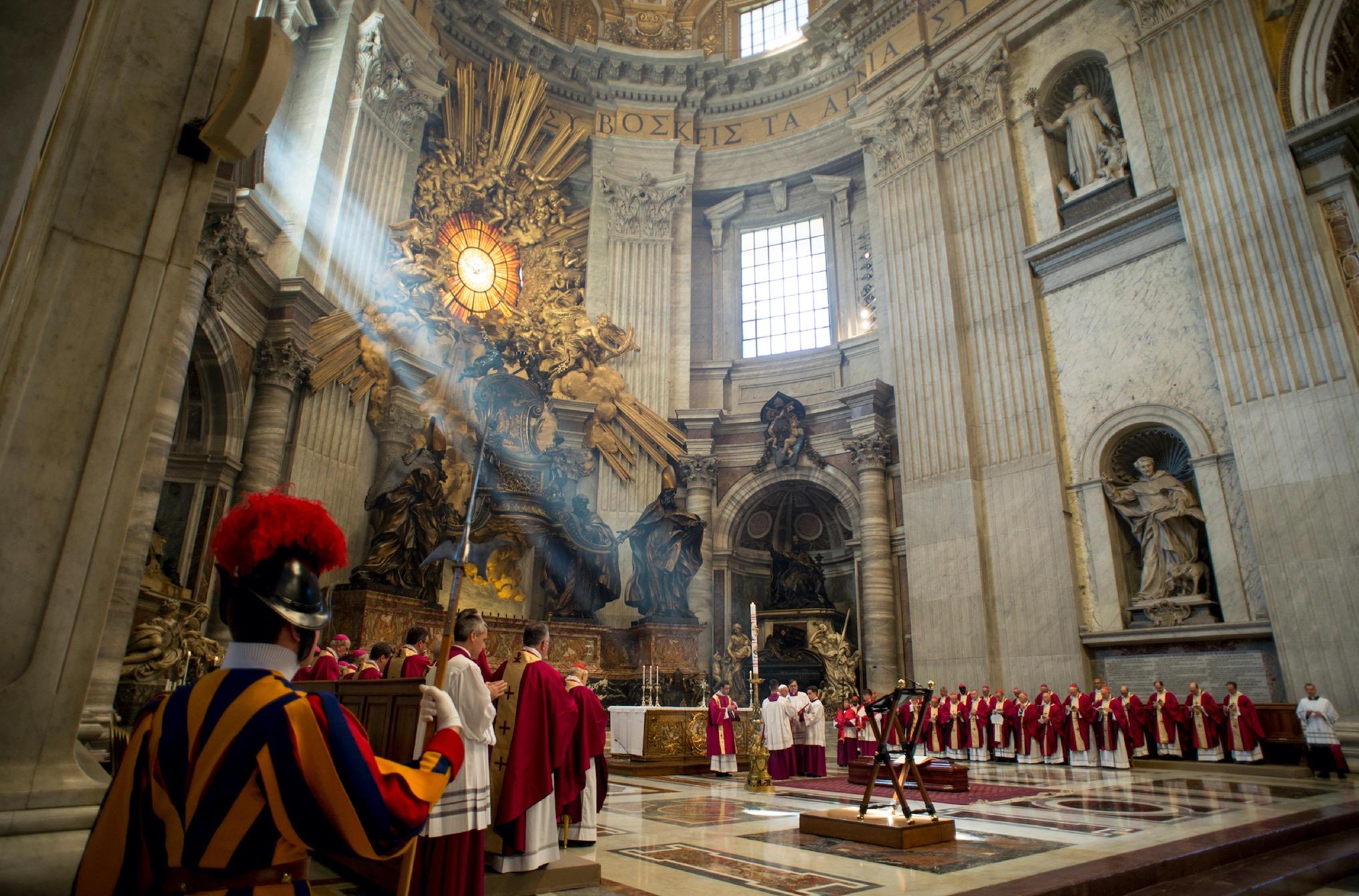 Exequias cardenal Nicora (Fto Oss. Romano ©)