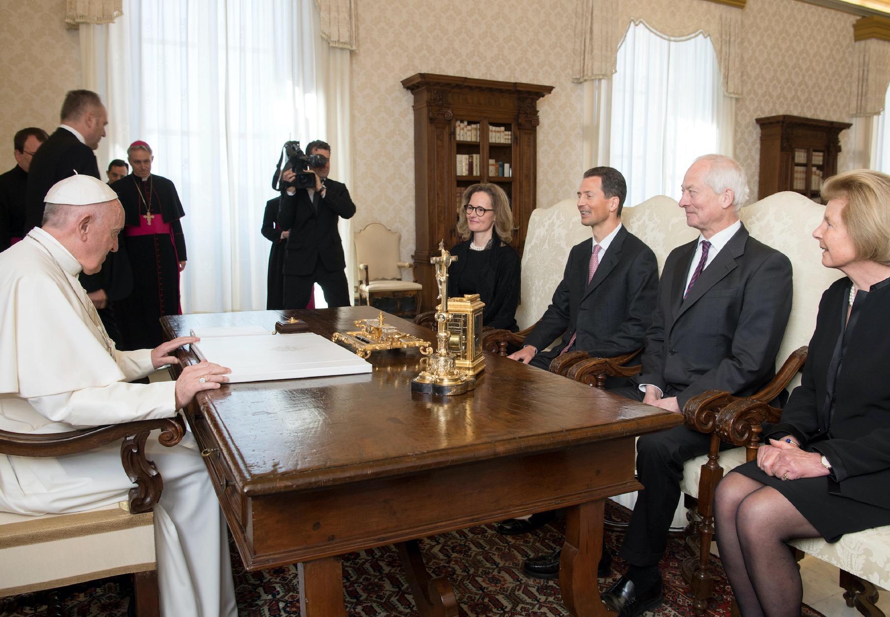 Principes de Liechtenstein (Osservatore © Romano)