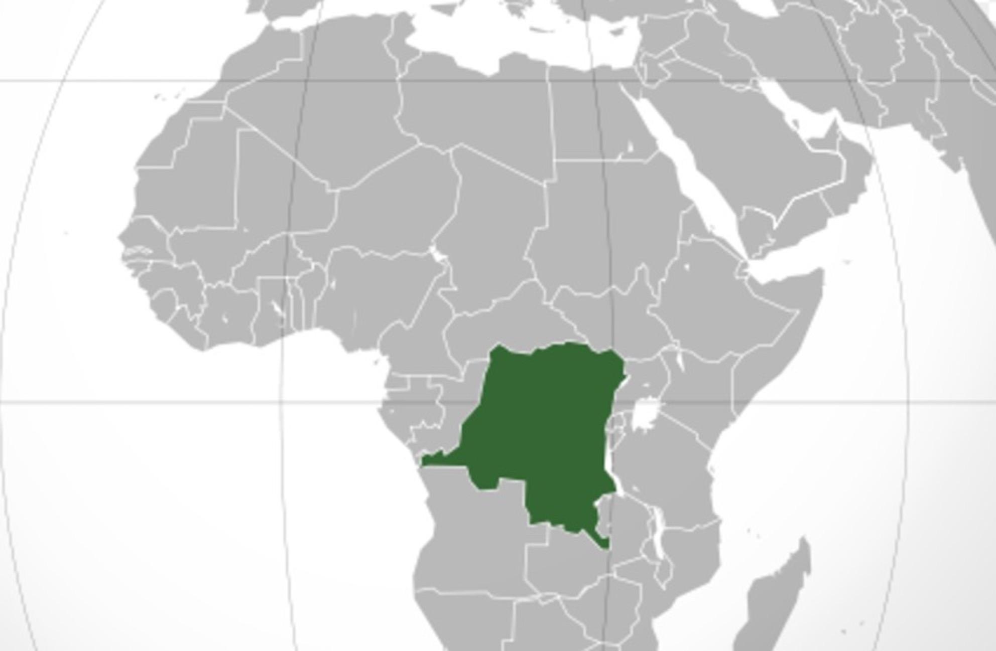 República democratica del Congo (Wikicommons)