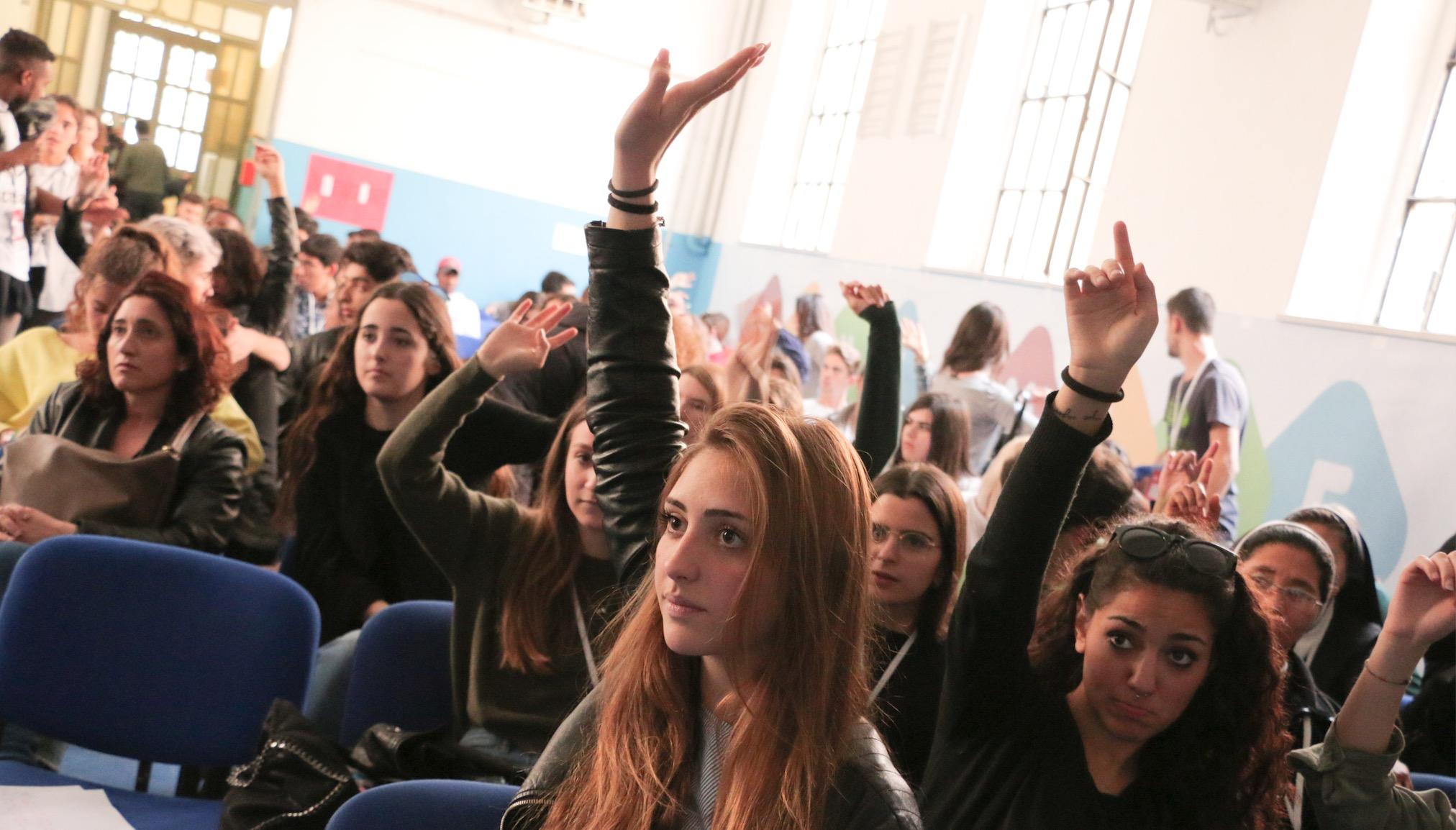 Scholas, instituto Einaudi de Roma (Fto Cortesía S. Occ)