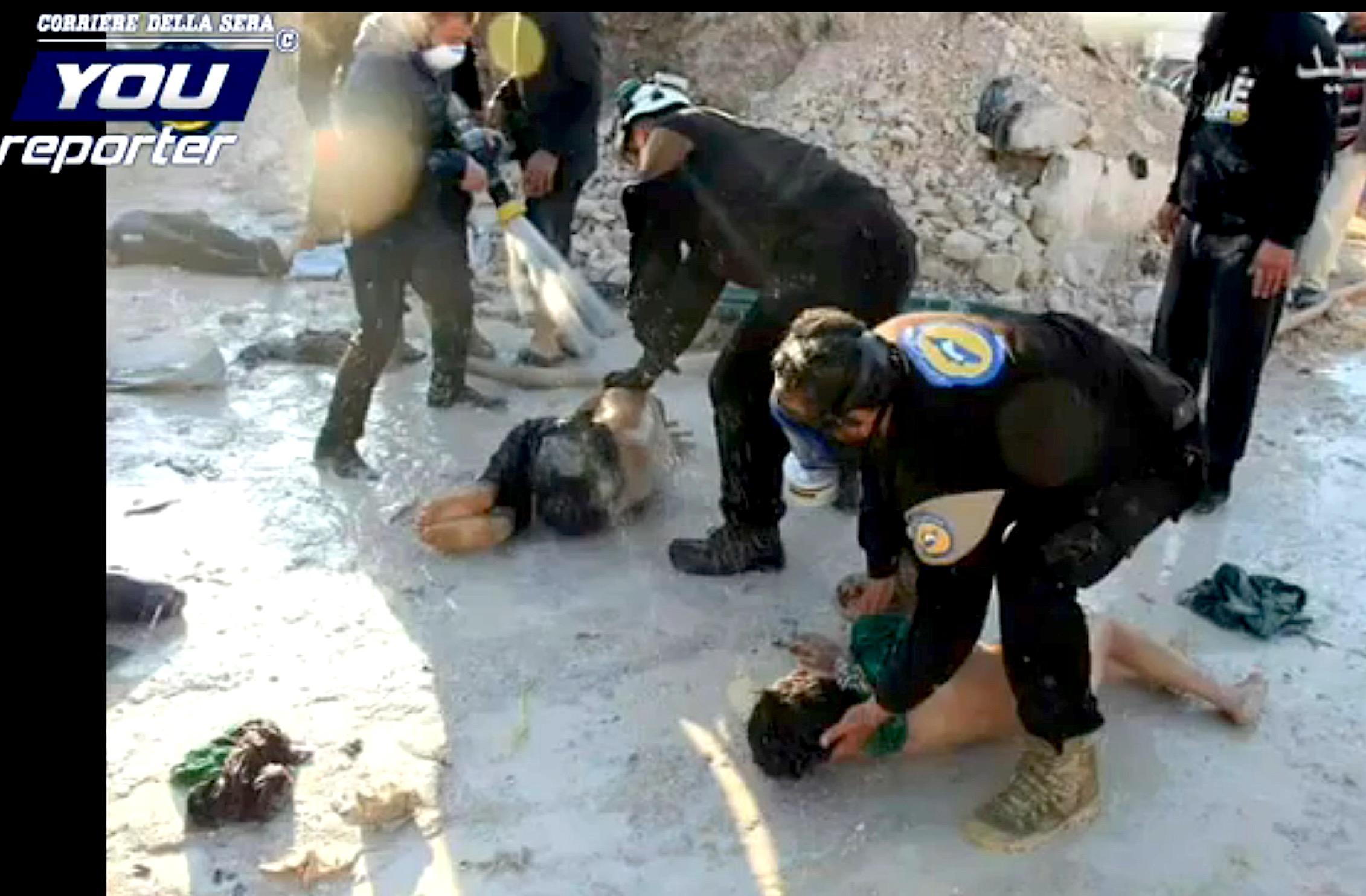 Siria, uso de gas letal (Youreporter.it)