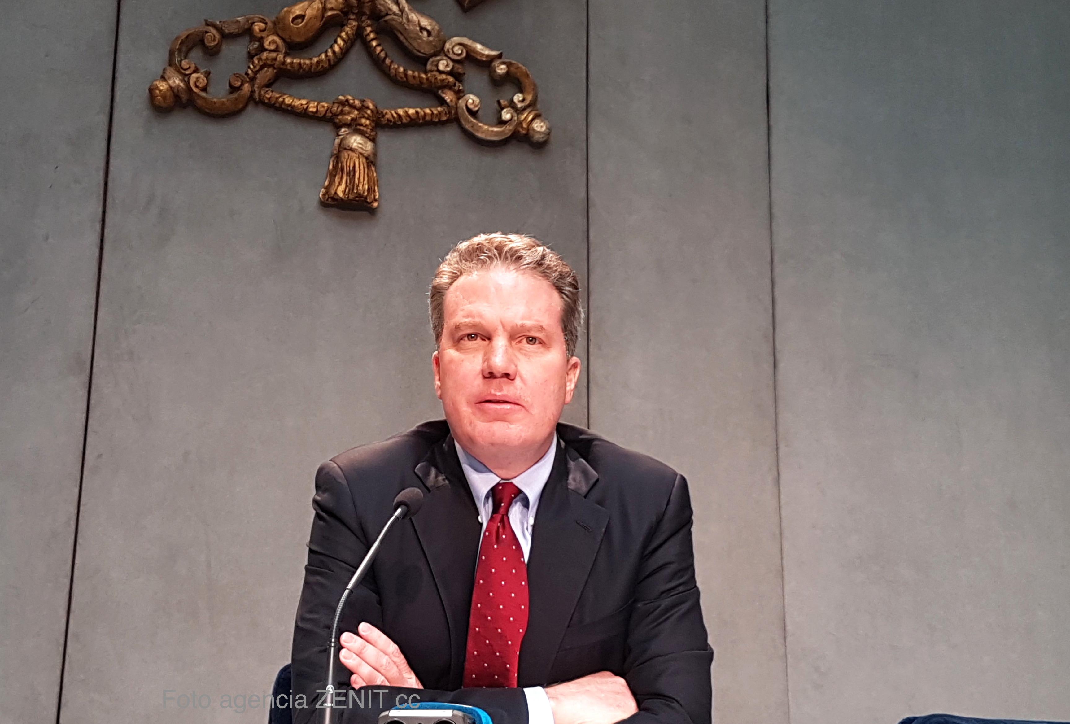 Greg Burke, Director de la Oficina de Prensa del Vaticano (Archivo ZENIT)
