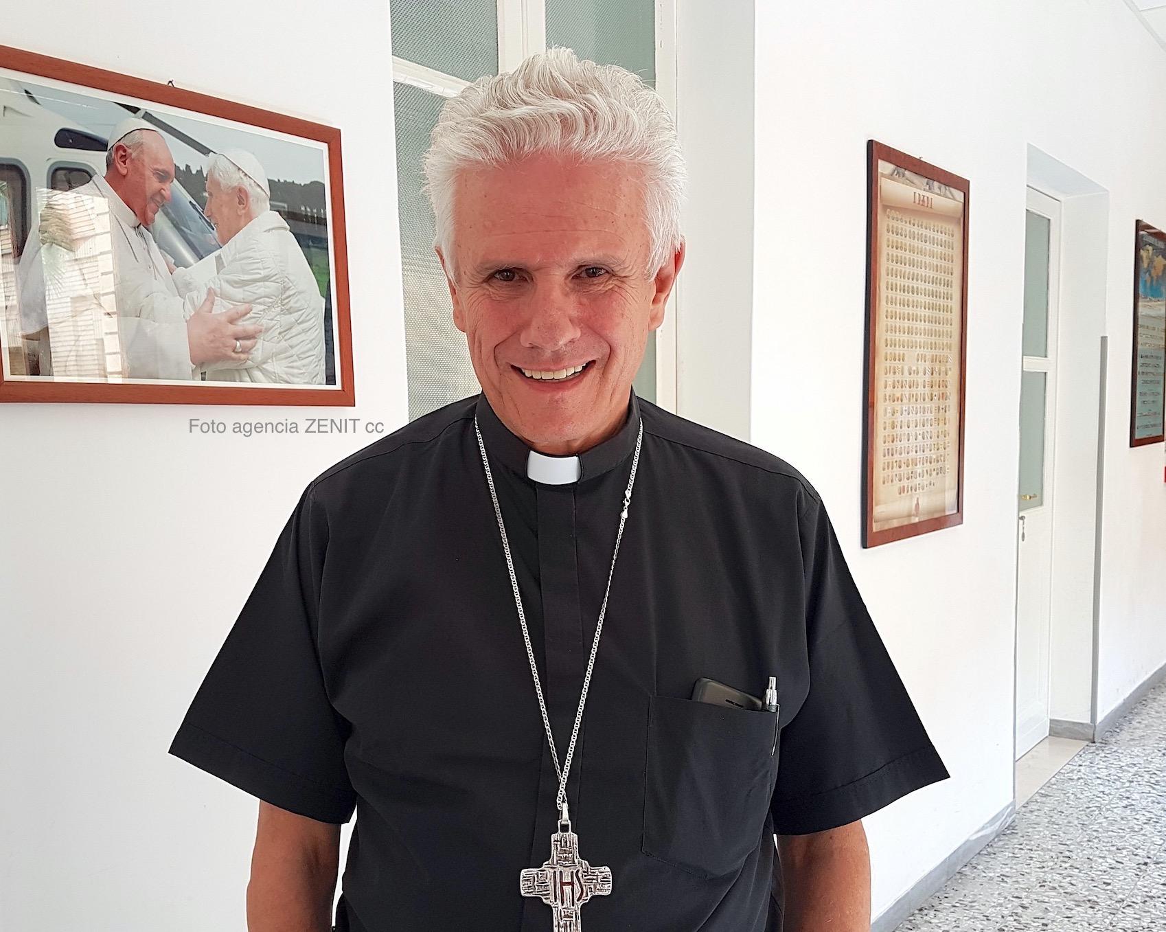 Gonzalo de Villa presidente de la Conferencia Episcopal de Guatemala (Foto ZENIT, libre uso citando la fuente)