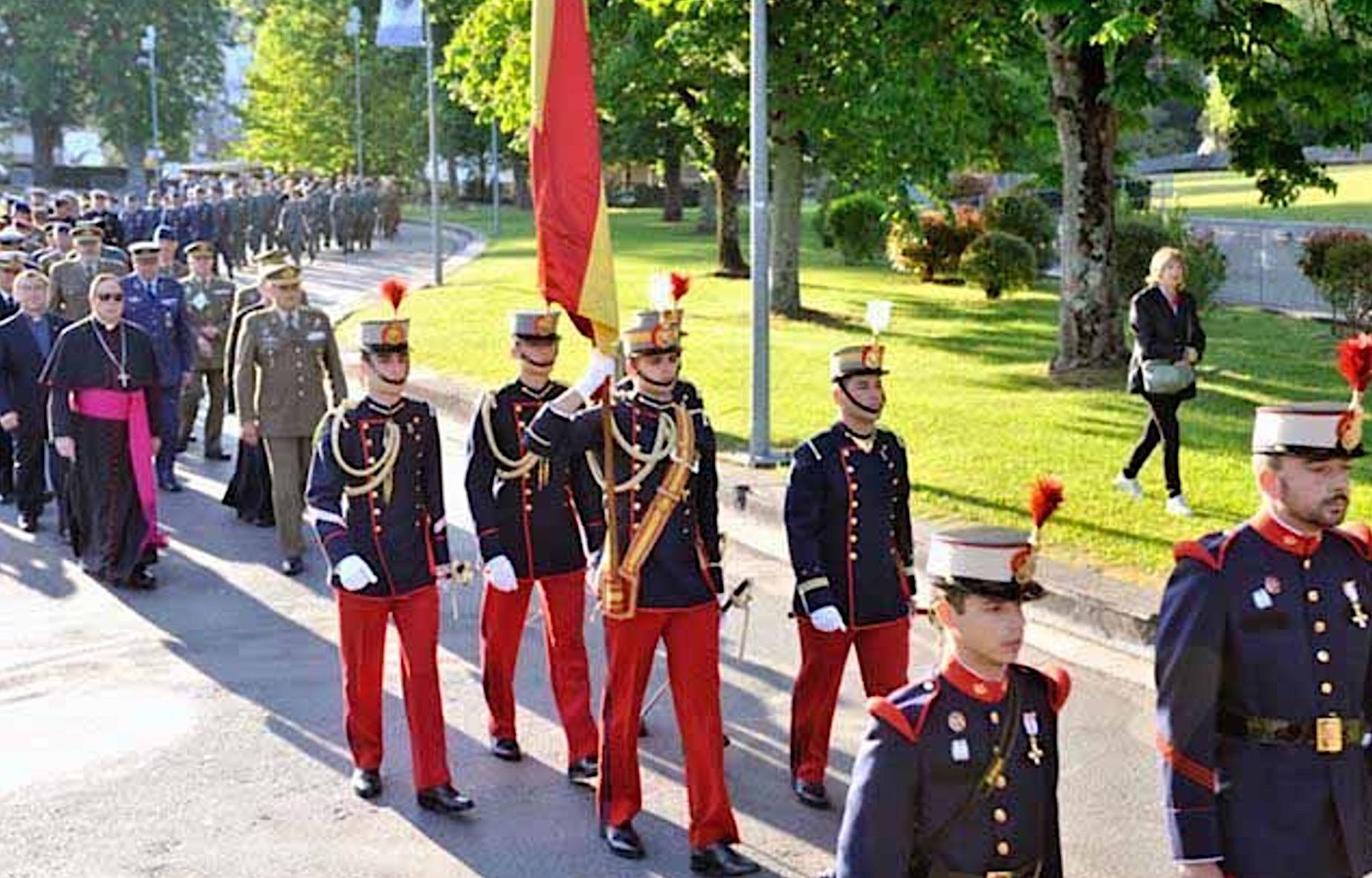Militares en Lourdes arzobispadocastrense.com