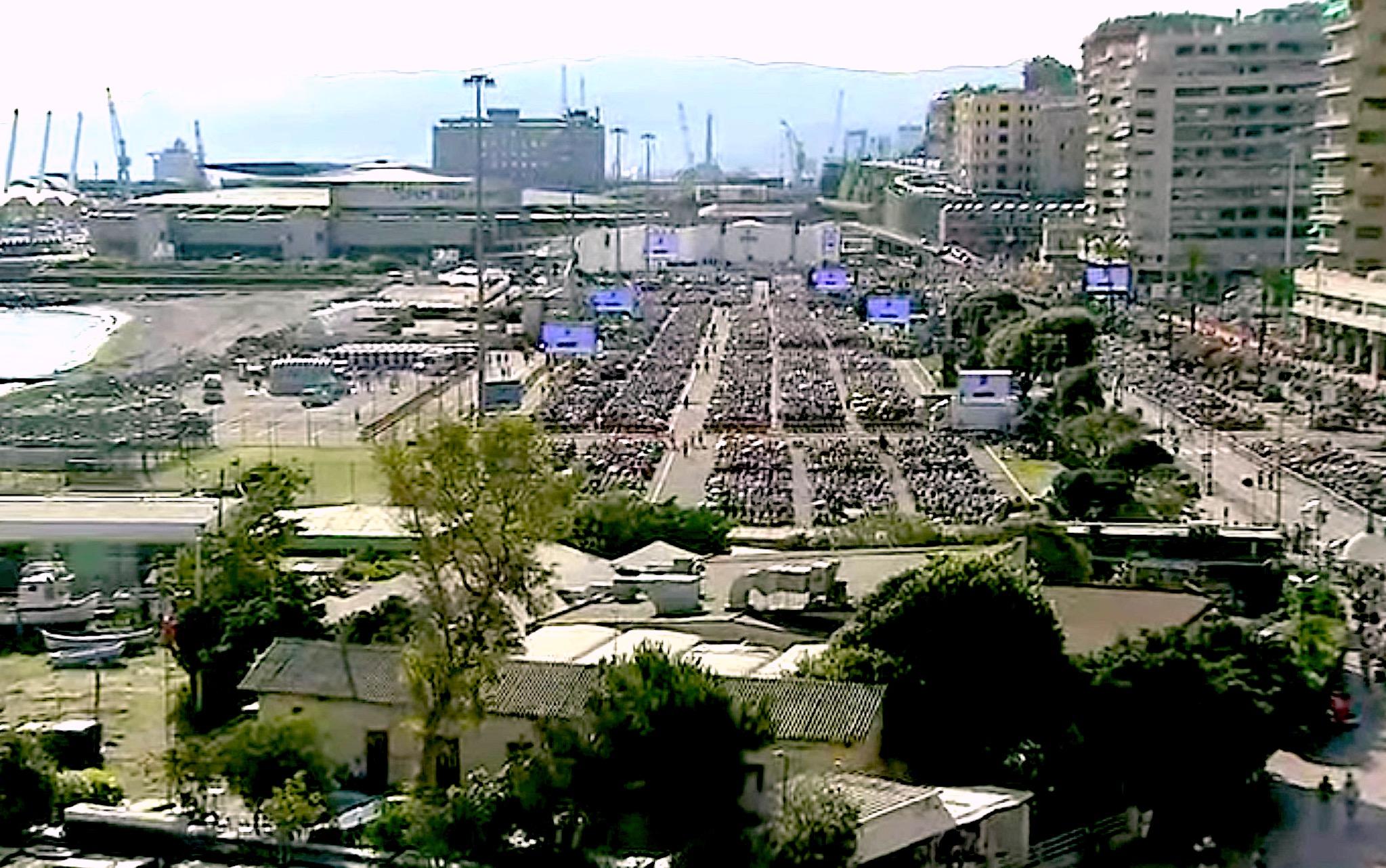 La Misa en el puerto de Génova