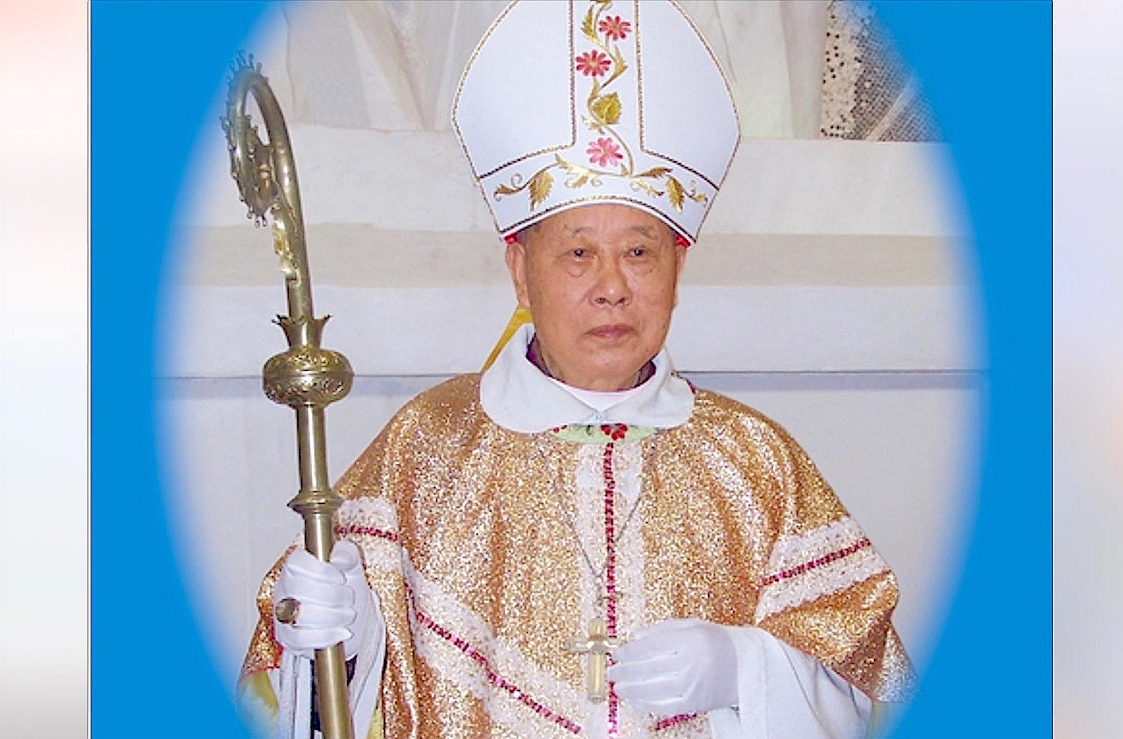 Obispo Wang Chongyi (Foto cortesia de la diócesis de Guizhou)