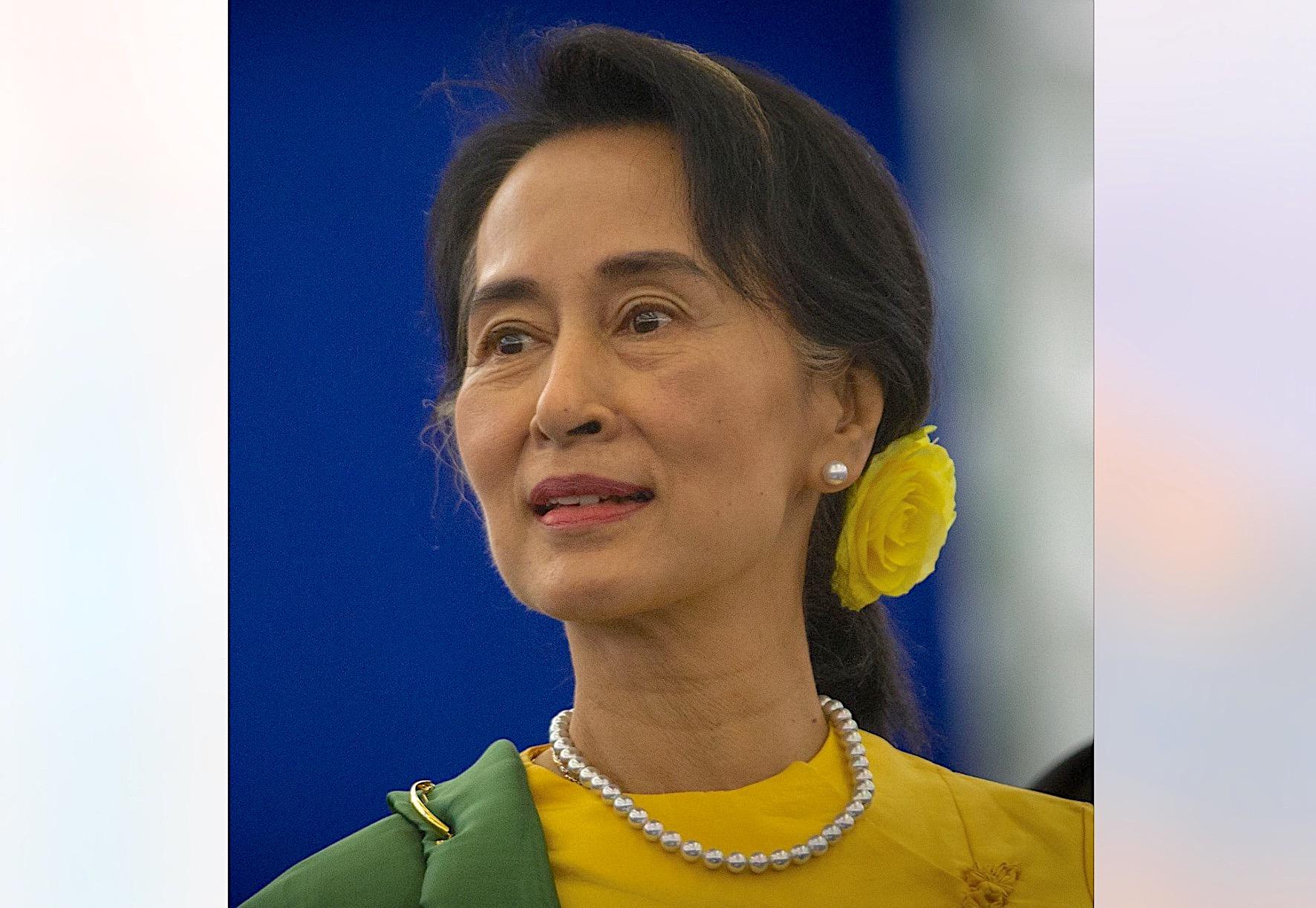 San Suu Kyi (Wikicommons Claude TRUONG-NGOC)