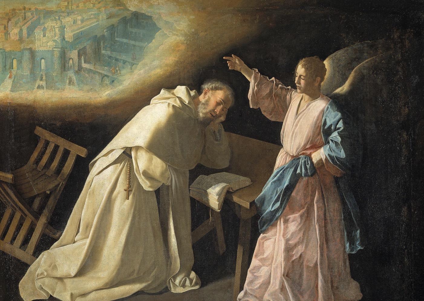 Visión de San Pedro Nolasco - Museo del Prado