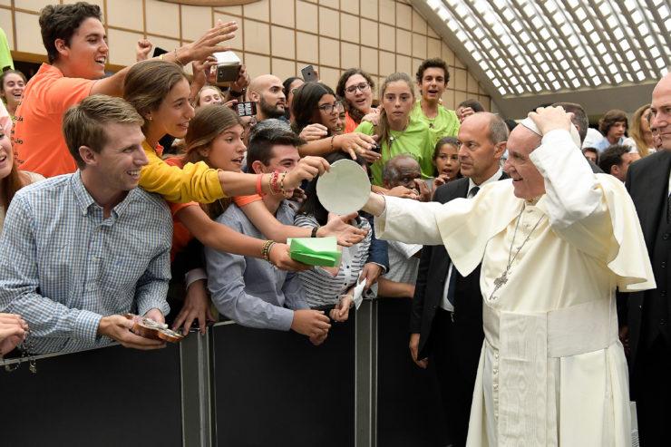 Audiencia 02082017 © L'Osservatore Romano
