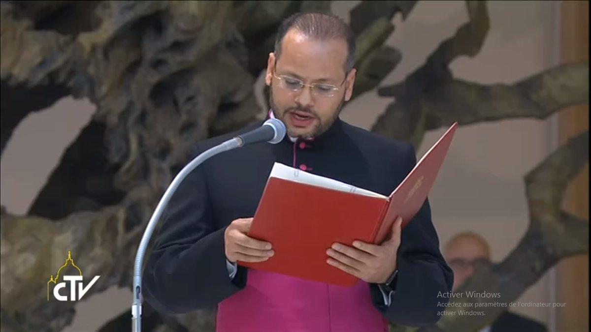 R.P. Yoannis Lahzi Gaid, captura de pantalla CTV