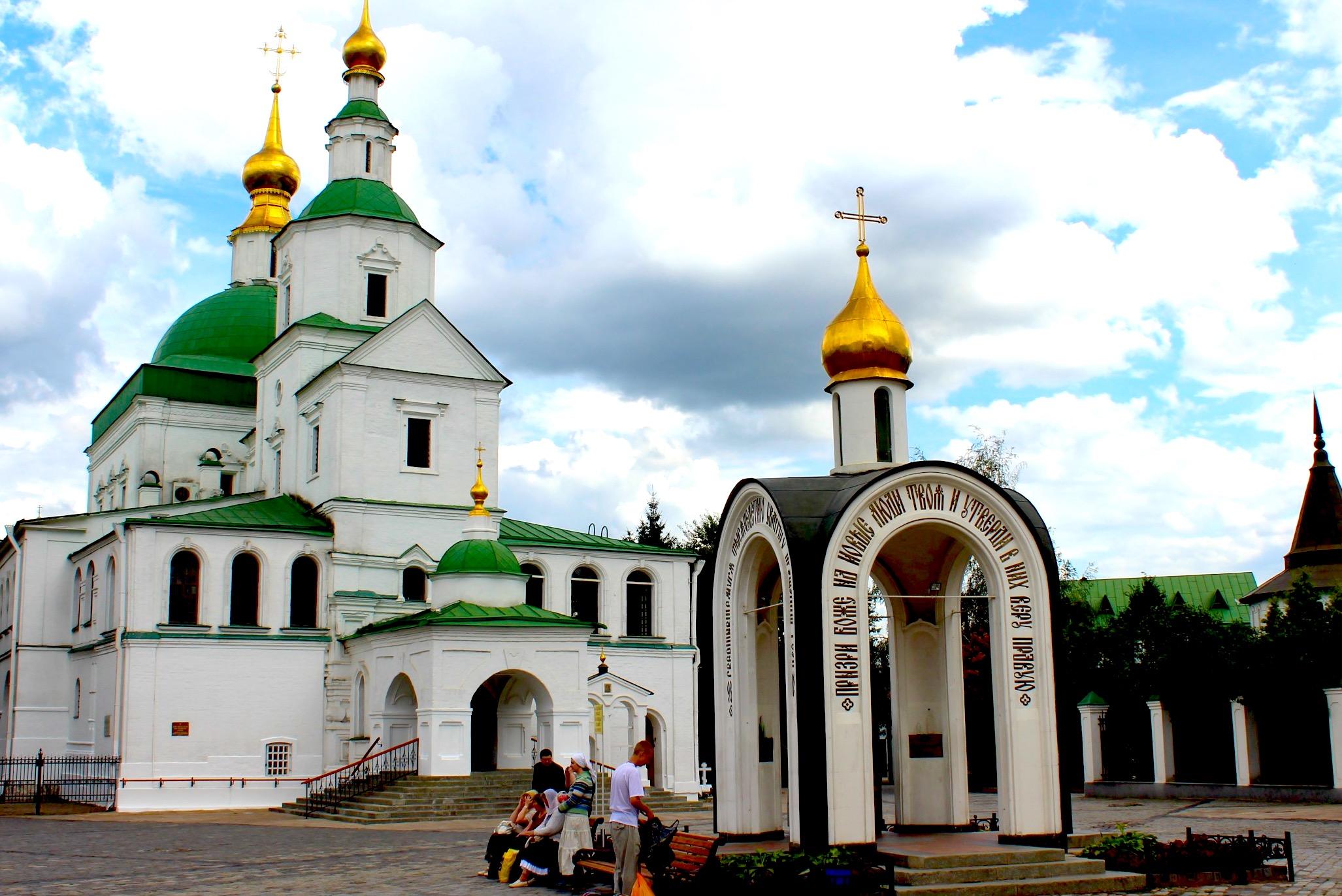 Monasterio Danilov (Fto. Wikicommons MOCKBA08)