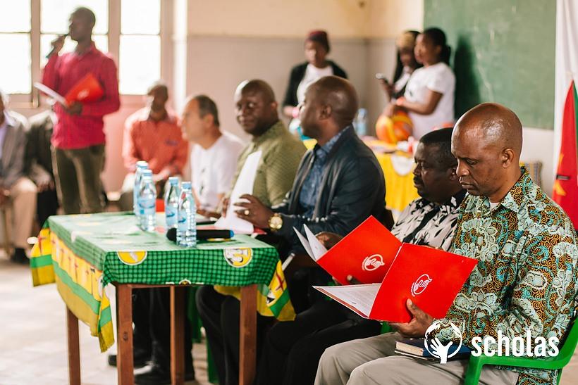 """""""Scholas Ciudadanía"""" en Mozambique © Scholas Occurrentes"""