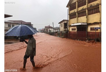 Inundaciones en Sierra Leona © News.va