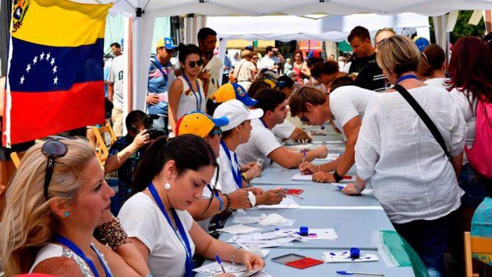 Votaciones en Venezuela.© Veritas UCV