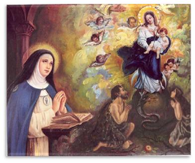 Santa Beatriz de Silva © Parroquia de Torrijos