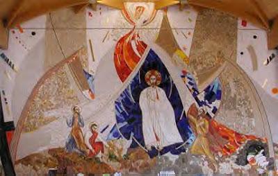 Transfiguración, Marko. I. Rupnik SJ, Milano