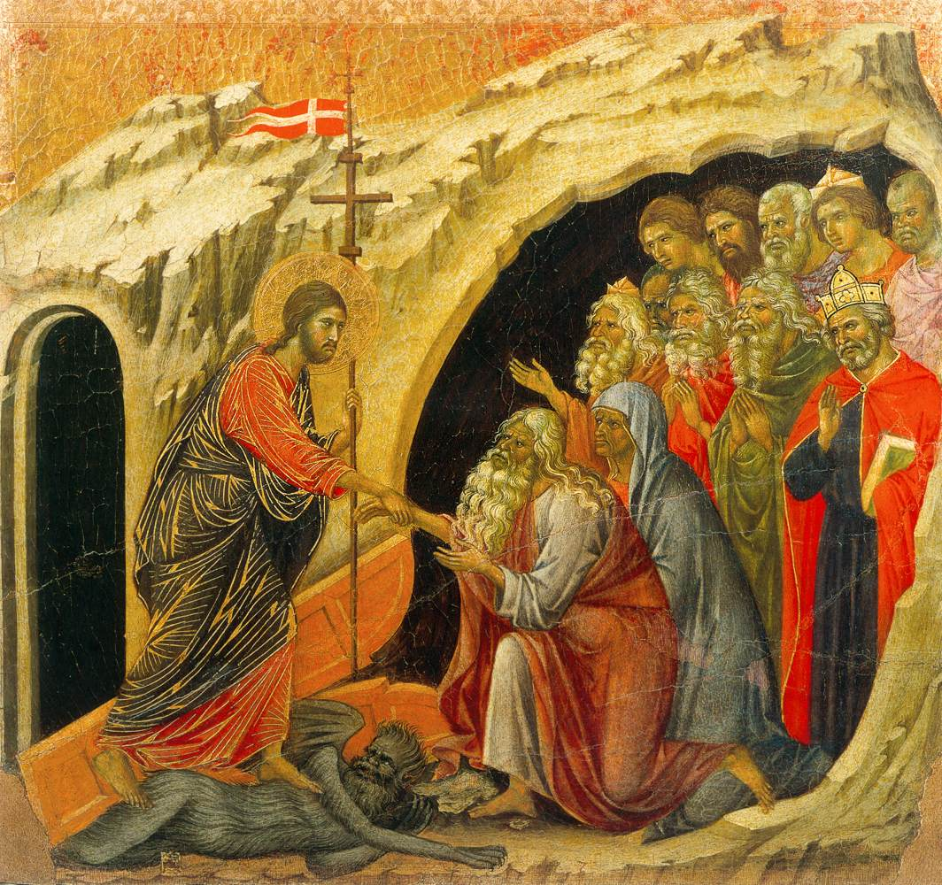 Cristo en el Limbo. Duccio di Buoninsegna © wga.hu