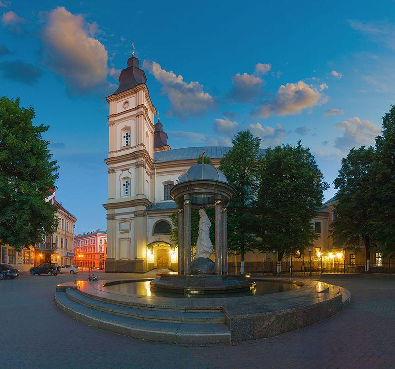 Catedral de la Resurrección de Cristo (Ivano-Frankivsk). Wikimedia Commons